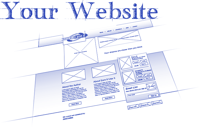 An online strategy is like a blueprint for how your website will be used